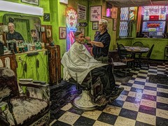 barber-shop (doug.siefken) Tags: chicago shop hair very awesome great ron barber cutting his medina rockwellian ambiance the