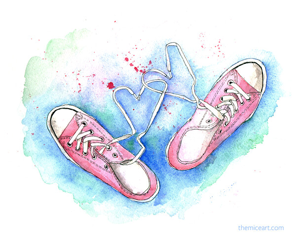 839ff5ab6c006 The World's most recently posted photos of converse and watercolor ...