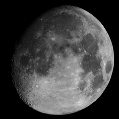 220/365: Waxing Gibbous Moon 94% of Full (Stephen Little) Tags: mirror reflex mirrored 500mm catadioptric minoltaaf500mm minolta500mmf8 minoltaaf500mmf8 sonya77 minolta500mm jstephenlittlejr slta77 sonyslta77 sonyslta77v sonyalphaslta77v