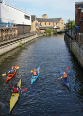 River Can, Chelmsford (Neil Pulling) Tags: uk england kayak canoe essex chelmsford rivercan