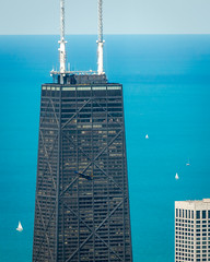 Blue Angels @ Chicago Air and Water Show (PeteTsai) Tags: lake chicago tower photo image michigan airshow photograph blueangels willis chicagoairandwatershow
