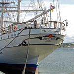 Segelschulschiff »Gorch Fock (1)« im Stralsunder Hafen vor Anker (7) thumbnail