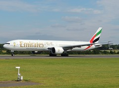Emirates Boeing 777-31HER A6-ENN departing Manchester, 14 July 2014 (Ross Kennedy) Tags: new england sky man southwest west tower english tarmac airplane manchester concrete fly high airport wings holidays europe european northwest britain good euro aircraft altitude aviation air south jets uae flight eu fast cockpit aeroporto terminal aeroplane landing emirates deck international level airline planes passenger boeing arrival popular departure propeller takeoff runway flights carrier freight mounds flightdeck airliner intl turboprop airfield aerodrome winglets fuselage jetliner ringway planespotting egcc turbojet tailplane turbofan iata 777300er icao