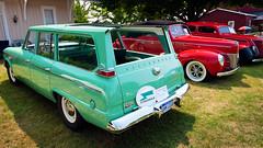 1963 Studebaker Wagonaire at Gilmore (hz536n/George Thomas) Tags: summer copyright canon wagon michigan august orphan canon5d studebaker stationwagon 2014 gilmorecarmuseum ef1740mmf4lusm cs5 wagonaire
