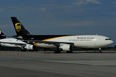 N158UP (Steelhead 2010) Tags: cargo ups airbus unitedparcelservice a300 yhm a300600f nreg n158up