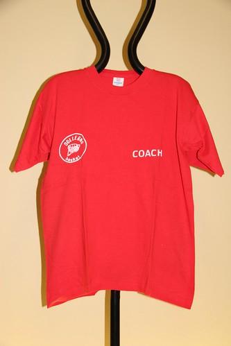 T-shirt coach rossa Collegno Basket