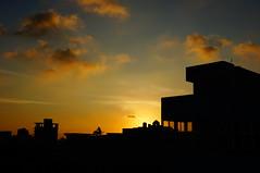 DSC04249 () Tags: sunset shadow cloud sun reflection afternoon setting  settingsun
