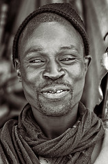 Senegal Face (lassmanac1) Tags: life africa travel vacation portrait people blackandwhite bw person faces natural outdoor african westafrica friendly senegal dakar