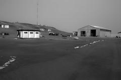 Strange Places (ferdak) Tags: africa bw town sand desert shed sigma desolate namibia skeletoncoast terracebay dp2m