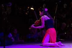 Vira Burmenko (S. Staj) Tags: music woman toronto canada colour love girl festival lady night concert audience action stage performance musical violin northyork 2014 staj vira burmenko