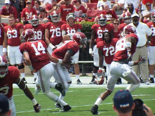 Alabama vs Florida Atlantic | September 7, 2014 | Fuji HS20 + TC-200m