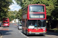 22 August Sutton (3) (togetherthroughlife) Tags: bus august surrey 80 sutton 2014 londongeneral pj02rcu pvl284