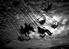 Ringipil u mojom glavi (Cristian tefnescu) Tags: blackandwhite monochrome silhouette playground blackwhite fav50 carousel fair kirmes contrejour carrousel karusell carusel volksfest jahrmarkt fav25 ringelspiel ringispil blci ringipil therubyawardsinvitation