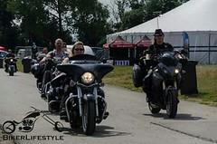 Poser Moment (Nicola_R) Tags: party black bike bash rally bulldog motorbike motorcycle biker nomad vulcan custom 900 kawasaki vn bagger bulldogbash vn900