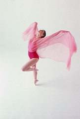 Ballerina (Robert Louis Clemens) Tags: ballerina dancing dancer leotard flowingfabric