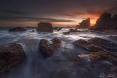 El Matador Beach! - California (AlkhashabNawaf) Tags: california sunset usa seascape beach america landscape nikon colours tripod el malibu manfrotto d800 nawaf matador 1635          alkhashab d800e