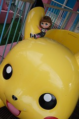 You see I am on Pikachu!! XD