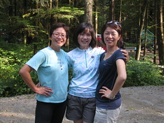 Three Smiles (Asian.Amour2) Tags: china woman cute sexy girl beautiful smile sunglasses vancouver asian happy hongkong glasses asia pretty foto sweet gorgeous chinese taiwan cutie jeans coquitlam brunette oriental taiwanese