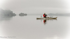 Simply Still (Nicolas Valentin) Tags: cloud clouds landscape scotland fishing bravo aqua kayak alba scenic adventure loch awe lochawe kayakfishing aplusphoto kayakfishingscotland