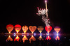 Nightglow & fireworks, Hulsbeek Oldenzaal (PJAG83) Tags: nightphotography hot balloons fireworks air balloon hotairballoons twente oldenzaal nightglow hulsbeek fireworkphotography twenteballooning nightglowhulsbeek
