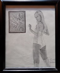 Paris Hilton and a Portrait of Tinker Bell (James Andrews1) Tags: hot sexy celebrity parishilton drawing tinkerbell disney beautifulwoman sexywoman jamesandrews parishiltonart parishiltonsexy parishiltondrawing disneytinkerbell tinkerbelldrawing parishiltonhot jamesandrewsart parishiltonandaportraitoftinkerbell parishiltonandtinkerbell tinkerbellart