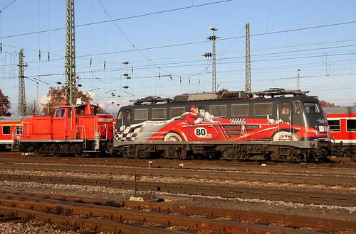 BR 115 509-2 und 363 649-5 Basel Bad Bhf