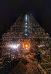 Tiruvannamalai Temple Gopuram (Alan Vel) Tags: india architecture god tamil deity tamilnadu southindia gopuram tiruvannamalai thiruvannamalai lordshiva mobilephotography arunachaleswarar annamalaiyar tamilnadutourism nexusphotography deityshiva