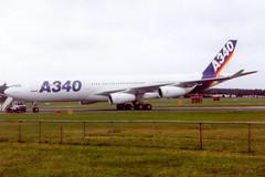 Airbus Industrie | Airbus A340-200 | F-WWBA | Farnborough (Dennis HKG) Tags: airbus a340 a340200 airbusa340 airbusa340200 aircraft airplane airport plane planespotting farnborough eglf fab fwwba
