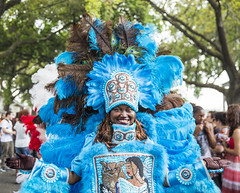 Mardi Gras Indian on Super Sunday 2017 (gary_waddle) Tags: mard gras indians mardigrasindians ikoiko canon6d 2470mm 28 new orleans nola