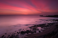 From the Realm of Souls Departed (johnkaysleftleg) Tags: seaham seahamharbour lighthouse countydurham le longexposure 10stopfilter canon760d sigma1020mmf456exdchsm seascape morning sunrise predawn water rocks ndhardgrad06 terracebeach