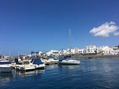 Agaete (il.ka15) Tags: hafen puerto nives meer dorf grancanaria blau blue water segelboot fischerdorf