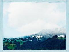 Springtime Snow (macplatti) Tags: digital digitalpainting springtime fruehling schnee snow blue green blau gruen pastell frühling grün weiss white dornbirn oberfallenberg