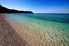 Portonovo 31 Marzo (Daniele Torreggiani) Tags: portonovo marche ancona riviera conero spiaggia beach mare sea acqua costa