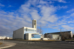 Iceland #54 (Art-is-true) Tags: iceland islande atlantic ocean reykjavik photography art is true photo travel travelling cityscape city scape urban area architecture church down town sunny clear sky canon eos