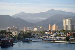 Puerto Vallarta early morning. (The Brit_2) Tags: puerto vallarta mexico cruise ocean blue palms absolutelystunningscapes