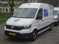 New Volkswagen Crafter (harry_nl) Tags: netherlands nederland 2017 hilversum volkswagen crafter v780fl sidecode10 pon