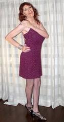 DSCF8651 (Rachel Carmina) Tags: cd tv ts tg trap tgirl trans transgender crossdresser transvestite sexy legs heels fishnet