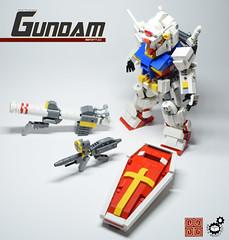 0. Gundam Loadout (Sam.C (S2 Toys Studios)) Tags: rx782 gundam mobilesuit legogundam lego moc samc s2toys 80s scifi mecha anime japan spacecraft gunpla