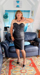 Black (Trixy Deans) Tags: crossdresser cd cute crossdressing crossdress classy classic corset slip slips nylon xdresser sexy sexytransvestite sexyheels sexylegs sexyblonde tgirl tv transvestite transgendered transsexual tranny trixydeans tgirls transvesite trixy tg trans