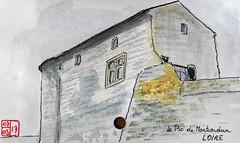 Le Tour de France virtuel - 43 - Loire (chando*) Tags: croquis sketch aquarelle watercolor france