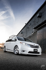 NORTH PINETREE Toyota Sienna on WORK Seeker SX (WORK Wheels Japan) Tags: work workwheels northpinetree toyota sienna seeker sx seekersx