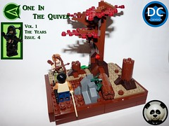 Green Arrow: One In The Quiver - Vol. 1 The Years Issue #4 (Random_Panda) Tags: lego figs fig figures figure minifigs minifig minifigures minifigure purist purists character characters dc comics superhero superheroes hero heroes super comic book books green arrow oliver queen natas ascension story stories