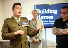 """Building Heroes & Chichester College Joint Armed Forces Covenant Signing • <a style=""""font-size:0.8em;"""" href=""""http://www.flickr.com/photos/146127368@N06/33410628552/"""" target=""""_blank"""">View on Flickr</a>"""