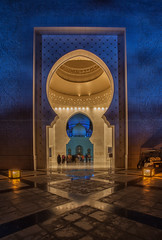 The Entrance (azahar photography) Tags: abu arab arabian arabic architecture asia beach belief building burj business city culture design dhabi dome east emirates famous gold grand holy islam islamic landmark marble middle minaret mosque muslim pillars prayer religion religious sea sheikh shopping sky temple tourism tourist tower traditional travel uae united water white worship zayed