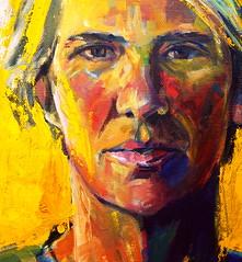 Lisa (KenKFoster) Tags: oiloncanvas oil portraits portrait painting