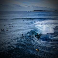 Big Wave at Shark Island, Cronulla (alexkess) Tags: