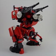 Artillery Mech PtA II (Marco Marozzi) Tags: lego legomech legodesign marozzi marco moc mecha mech robot walker droid drone