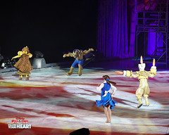 Belle, Beast, Lumiere & Cogsworth - Beauty and the Beast (DDB Photography) Tags: disney disneyonice ice waltdisney disneyphoto disneypictures disneycharacters dreambig mickey mickeymouse minnie minniemouse mouse feld feldentertainment donaldduck duck goofy figure skate figureskate show iceshow prince princess princesses castle animation disneymovie movie animatedmovie fairytale story rogerscentre rogers skydome toronto ontario canada princessbelle belle princeadam adam beauty beast gaston cogsworth lumiere potts chip