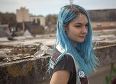 _MG_3357 (LennyW) Tags: urbex france girl blue hair city canon 5d 5 d mark 2 ii mk2 mkii 2880 28 80 f3556 f35 35 f56 56 usm electric model digital eos