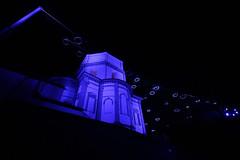 Piemonte - Torino: Luci d'Artista, Gran Madre (mariagraziaschiapparelli) Tags: piemonte torino lucidartista2016 notturno allegrisinasceosidiventa capodanno2017 visitpiedmont